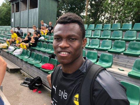 FEM MÅL: Ebiye Moses har scoret mest av LSK-spillerne i oppkjøringen til sesongen.
