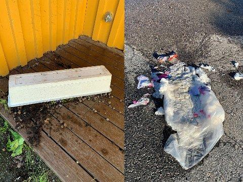 ROT: De ansatte barnehage startet dagen med å rydde opp etter ugjerningene.