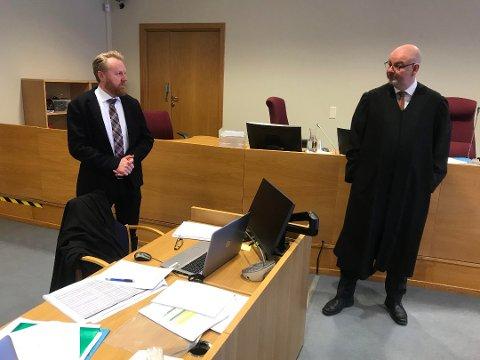 ANKET: Både advokat Øyvind Kilstad og statsadvokat Bård Thorsen har valgt å anke dommen fra Nedre Romerike tingrett til lagmannsretten. Det betyr at både den dømte og frikjente mannen kan måtte prøve saken sin på nytt.