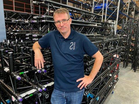 Styreleder Geir K. Johansen er en av fem tidligere aksjonærer i Bary som har kjøpt konkursboet og som nå starter opp Spectre Operations i Fetsund