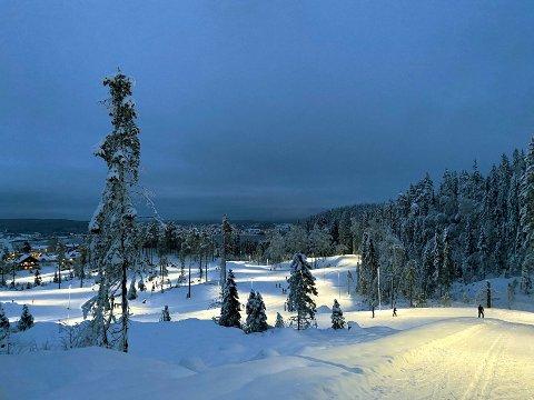 NYTT ANLEGG: Det nye langrennsanlegget i Marikollen innbyr til en skitur.