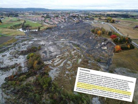 – KAN FØRE TIL LEIRSKRED: En ekstern rapport advarte i 2009 om erosjon i Tistilbekken og anbefalte tiltak for den eksisterende situasjonen – uten at det ble fulgt opp.
