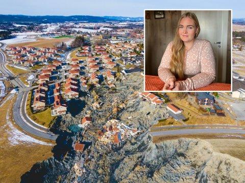 REAGERER: Skredoffer Christina Brenden mener det har vært mangel på informasjon og at forsikringsoppgjøret etter skredkatastrofen i Gjerdrum har gått sakte.