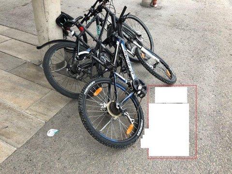 BESLAGLAGT: Politiet ber eiere av de beslaglagte syklene ta kontakt.