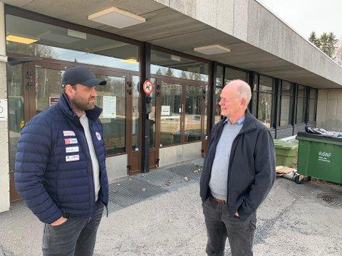 Forvirret: Verken daglig leder Mats Wibe-Lund i Lørenskog ishockeykubb (t.v.) eller hans kollega Per Nygren i Fjellhammer IL vet hva de kan vente av kompensasjon for alle de avslyste seriekampene som et resultat av nedstengingen fra januar.