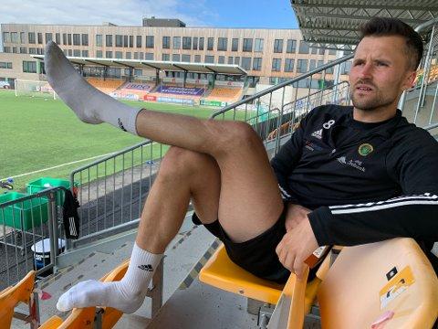 Ikke på sokke(l): Både Ull/Kisa og Stian Ringstad mener han bør være blant dem som går på foran i Ull/Kisa. Det har nesbuen foreløpig ikke klart denne sesongen.