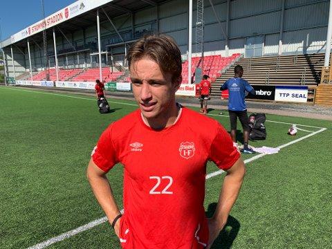 Eliteserieaktuell: Martin Sjølstad lå an til å bli solgt fra Strømmen før både Lasse Nordås og Torje Naustdal. Så pådro 20-åringen seg en stygg skade. Over et halvt år etter er han nå tilbake i full trening.