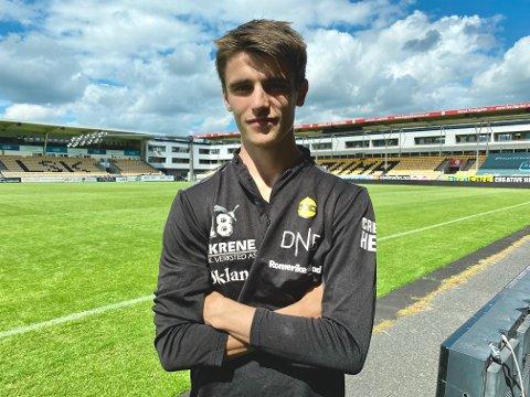 MØTER GAMLEKLUBBEN: Ulrik Mathisen ser fram til sin første derbykamp av flere grunner.