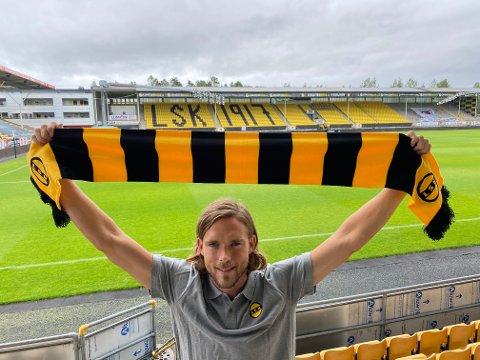 KLAR: Tom Pettersson har signert med LSK for halvannet år.