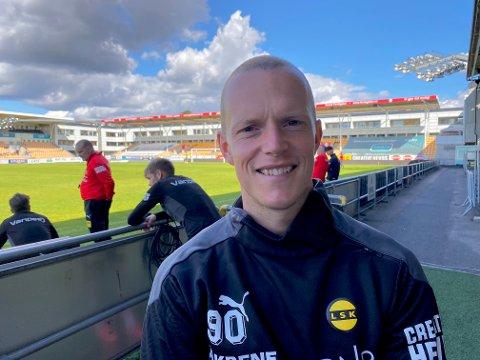DRAR: Daniel Gustafsson avslutter sesongen i LSK før han flytter hjem til Sverige.