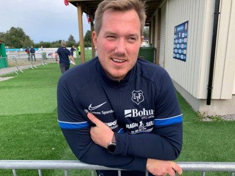 SKUFFET: Turn-trener Joakim Dragsten var skuffet over at laget hans ikke klarte sette ballen i mål mot Hødd lørdag.