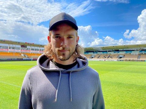 I GANG: Tom Pettersson har hatt sine første treninger med nye lagkamerater i LSK.