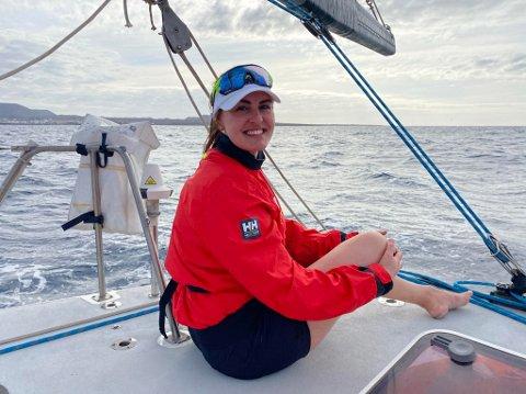 Christiane Kværner fra Jessheim så på dette som en unik mulighet hun ikke kunne la gå fra seg - og takket ja til å være med på seiltur over Atlanterhavet.