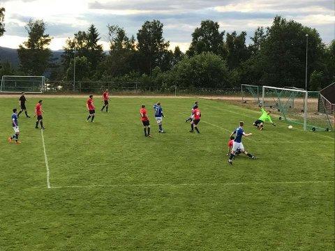 4-0 skåringen til Karl Henrik Wittusen etter pasning fra Nils Otto Teigen.