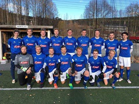 HALVØYAS BESTE: Hurumhalvøyas eneste representant i fjerde divisjon fotball for herrer neste år blir Huringen IF.