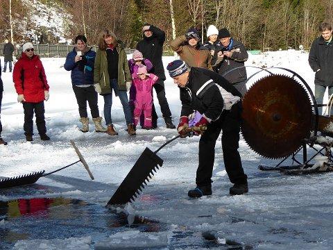 Fra arrangementet på Ramton for to år siden, som var et ledd i Røyken Historielags 50-års feiring. Karl Ramton sager is.