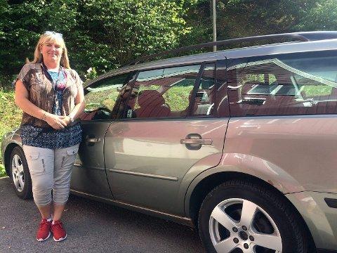 GA OPP: For Inger Elise Stenseth har bilkjøpet reddet  nattsøvnen. Nå komme seg seg på jobb selv om bussen ikke går.