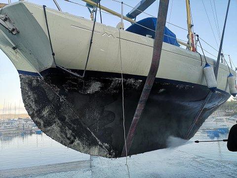 OPPLAGSTID: Oktober er tid for opptak av båter.