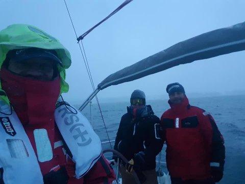 VINTERMORO: 13 båter bruker helgen på  å seile fra Bolærne til Strømstad.