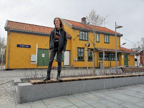 """LANDSFINALIST: Jon Eivind Hallgren er klar for landsfestivalen i UKM i slutten av juni. Men hva bidraget """"Reist""""  handler om, forblir hemmelig."""