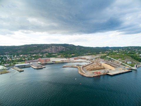 DEMOANLEGG: Statkraft og Södra samarbeider om det planlagte demoanlegget ute på Tofte gjennom selskapet Silva Green Fuel.