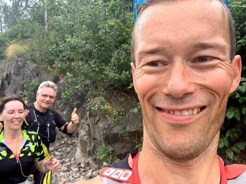 BURSDAGSFEIREING: Even Nedberg brukte 42-årsdagen til å invitere til maraton i Asker via Facebook.
