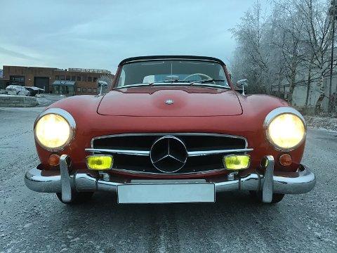 1957-MODELL: Denne kan bli din for en høy sum.