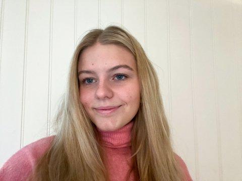 VIL BIDRA: Vilde Nordhagen fra Tofte vil bidra til at familier som ikke har så mye å rutte med får en koselig julefeiring.