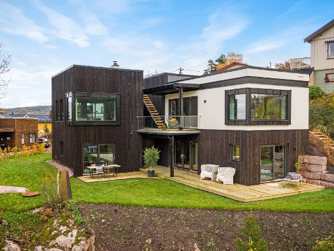 NY BOLIG: Denne boligen sto ferdig i Oktober