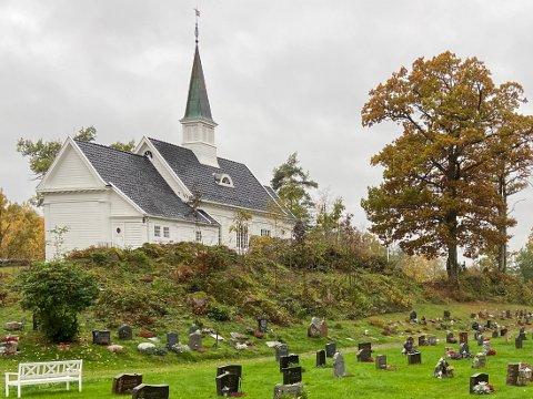 HØYLYTT: Det kom mye bråk fra Kongsdelene kirke natt til mandag.