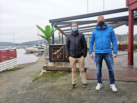 OPPBUD: Rolf Aslak Hansen og Kjell Robin Johansen var optimsttiske fram til 11.november.