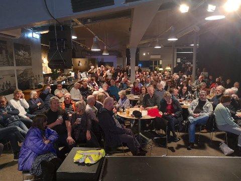 FULLT: Mange møtte fram for å høre om planene for Rortunet.