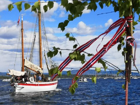 BÅTKORTEJSE: Det blir båtkortesje i Oslofjorden i år også 17. mai.