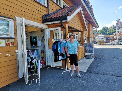 STOR PÅGANG: Heidemarie Nordahl er daglig leder i Oslofjorden dykkersenter. Senteret  flyttet til Vollen i 2019.