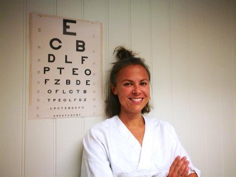 NY FASTLEGE: Pia Øvregård (36) er ny fastlege ved Spikkestadlegene.