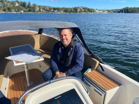 MILJØVENNLIG: Christer Ervik mener at elbåtene er en viktig del av det grønne skiftet.