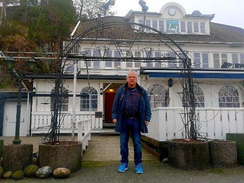 TUNGT: Det har vært tungt for Roger Olsen og resten av restaurantbransjen under Korona.