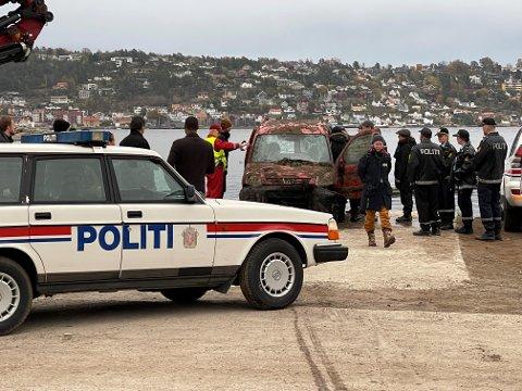 INNSPILLING: Scener til en ny Nesbø serie for HBO filmes nå på Storsand.