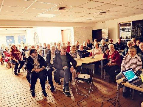 LUKSUSPROBLEM: – Det kom så mange på informasjonsmøtet at vi slet med å holde kontrollen over gjennomføringen slik vi hadde planlagt, smiler Stig Atle Jørgensen.