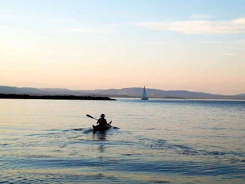 FJORDUTSLIPP: Asker kommune gikk i går ut med oppfordring om ikke å bade i indre deler av kommunens oslofjordkyst før Kristi Himmelfartsdag.