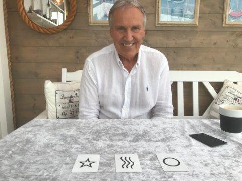 MAGIKER FRA BÅTSTØ: Arne Pedersen er snart klar med sitt forbløffende magiske foredrag blant annet basert på mind reading.