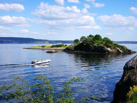 ODDEN: Ved Odden i Slemmestad var badetemperaturen målt til 17,8 grader onsdag 2. juni.