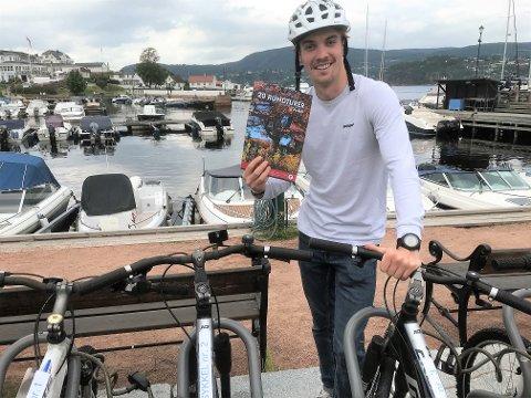 ukjent: - Vi leier ut sykler ved turistinformasjonen i Holmsbu, men det er det ikke så mange som vet om, sier Kolstø. Han tror flere ville ha benyttet seg av tilbudet hvis det blir mer kjent. Foto: Sigbjørn Larsen