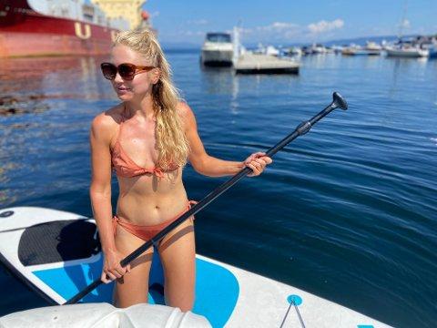 NORGESFERIE: For Maria Anderson er det ingen tvil. Norgesferien i fjor står igjen som det beste sommerminnet.