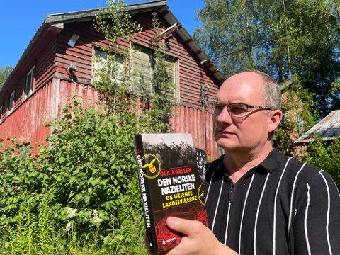 """AVSLØRER: Forfatter Ola Karlsen avslører nazieliten i Asker i sin bok """"Den norske Nazieliten"""". Heggedal Bruk var det økonomiske navet i et mektig nazistisk nettverk på det sentrale Østlandet. ."""