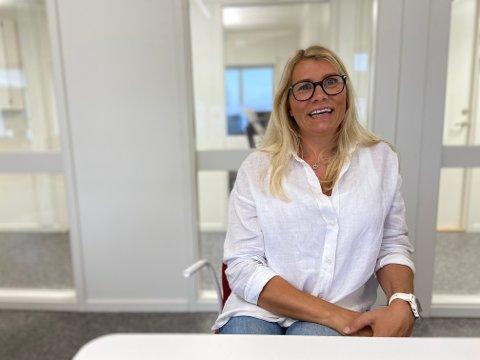 SPENT: Heidi Koppangen Øysted (38) gleder seg til å starte opp som senterleder ved nye Rortunet.