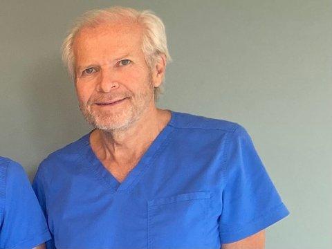 FORTSETTER: Allmennpraktiserende lege, Thor Ivar Greibrokk (68) har ingen planer om å gi seg med det første.