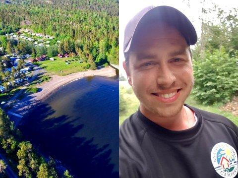 PANGSTART: Det er ingen tvil om at Lars Andreas Larsen (30) har fått en pangstart som ny eier av Knatvoldstranda Camping.