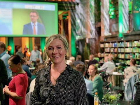 POSITIV 1: Else Marie Rødby (Sp) er svært nære en plass på Stortinget etter at de første tallene tikket inn etter klokken 21 mandag kveld.