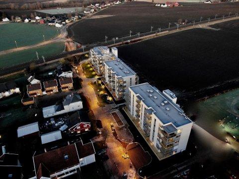 BERGBAKKEN: Her ble en eiendom solgt for 5,750 000.